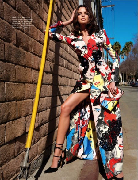 Barbara Fialho Embraces Colorful Spring Style for BAZAAR Singapore