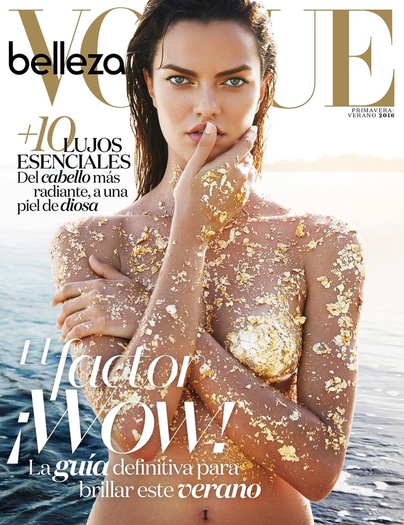 Barbara Fialho stars in Vogue Mexico's April issue