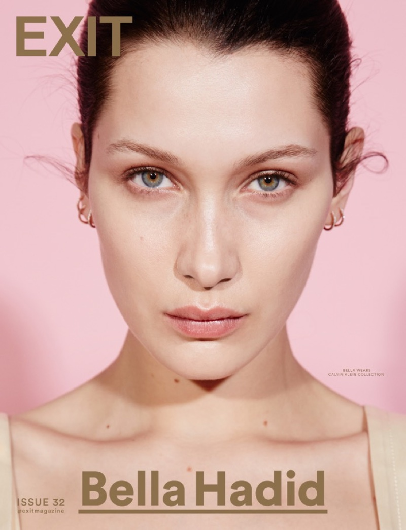 Bella Hadid on Exit Magazine Spring 2016 Cover