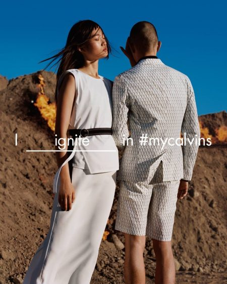 Calvin Klein Platinum Takes the Outdoors for Spring 2016 Campaign