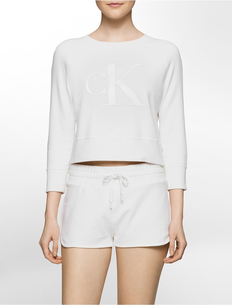 Calvin Klein Shrunken Sweatshirt Limited Edtion