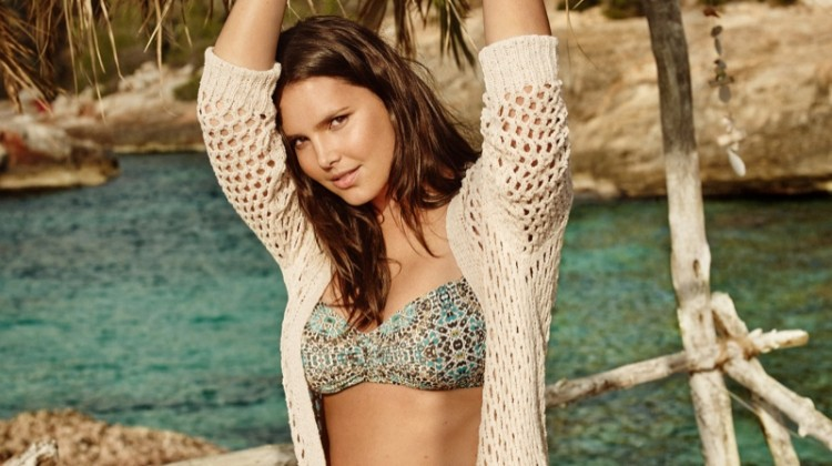 Candice Huffine is Ready for Bikini Season with Violeta by Mango