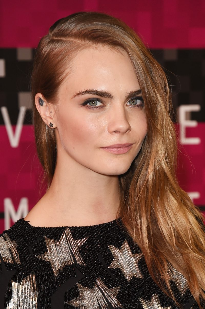 Cara Delevingne at the 2015 MTV Video Music Awards | Picture courtesy of Rimmel London