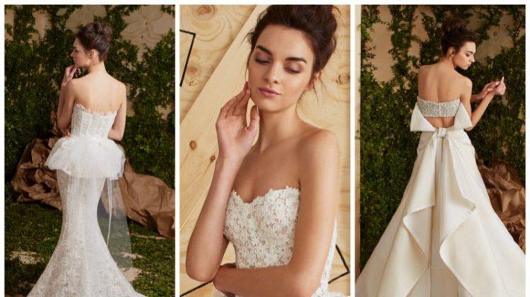 Carolina Herrera Bridal's Spring 2017 Dresses Have 360 Appeal