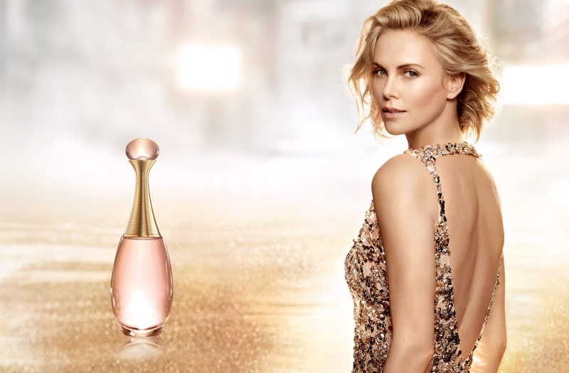 Charlize Theron for Dior's J'adore fragrance
