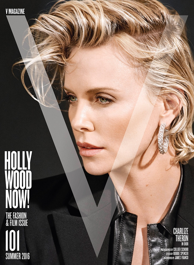 Excellent Charlize Theron V Magazine 101 Photoshoot Hairstyles For Men Maxibearus