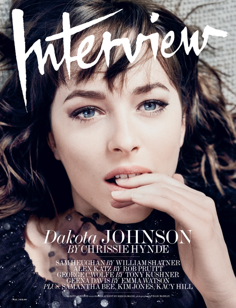 Dakota Johnson on Interview Magazine May 2016 Cover