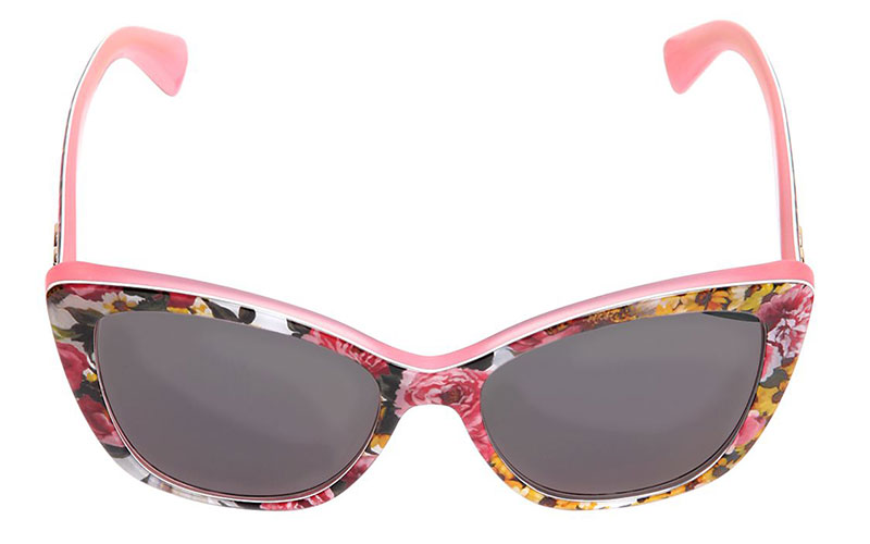 Dolce & Gabbana Bouquet Printed Sunglasses