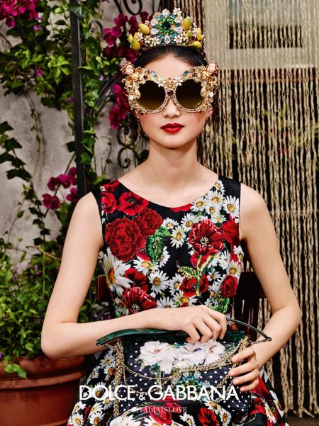 Dolce & Gabbana Brings On the Smiles with Spring Eyewear Campaign