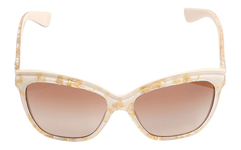 Dolce & Gabbana Golden Leaves Sunglasses