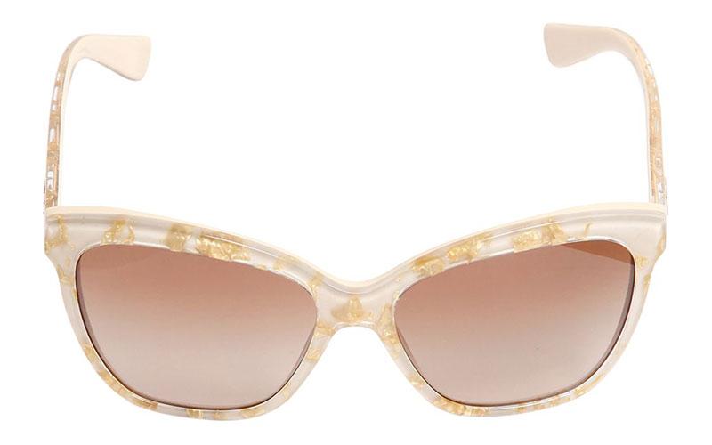 Dolce & Gabbana Golden Leaves Sunglasses