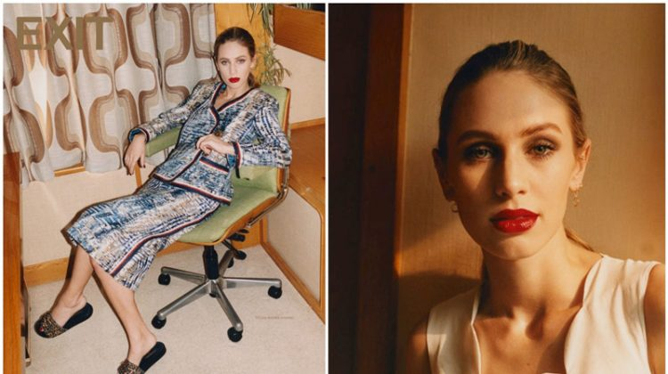Dylan Penn Stars in Exit Magazine's Latest Cover Story
