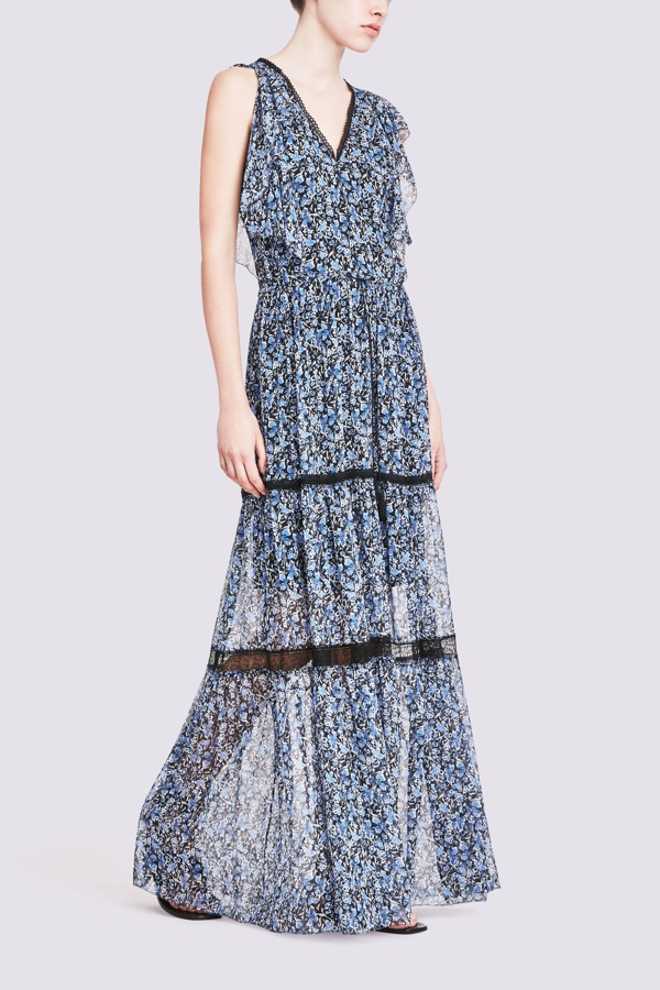 Elie Tahari Sanna Dress in Stargazer Print