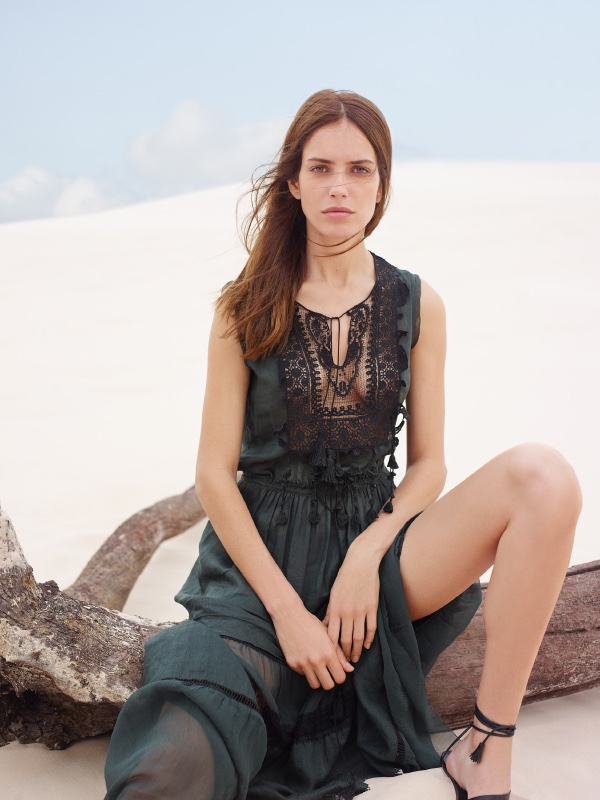 Elie Tahari's spring 2016 campaign features the Jules maxi dress