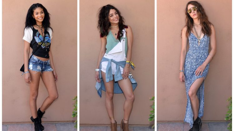 Coachella Style Watch: Vanessa Hudgens, Chanel Iman + More in Forever 21