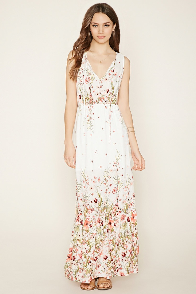 Forever 21 maxi dress floral