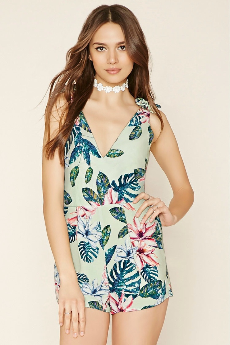 Forever 21 Spring Summer 2016 Floral Pieces