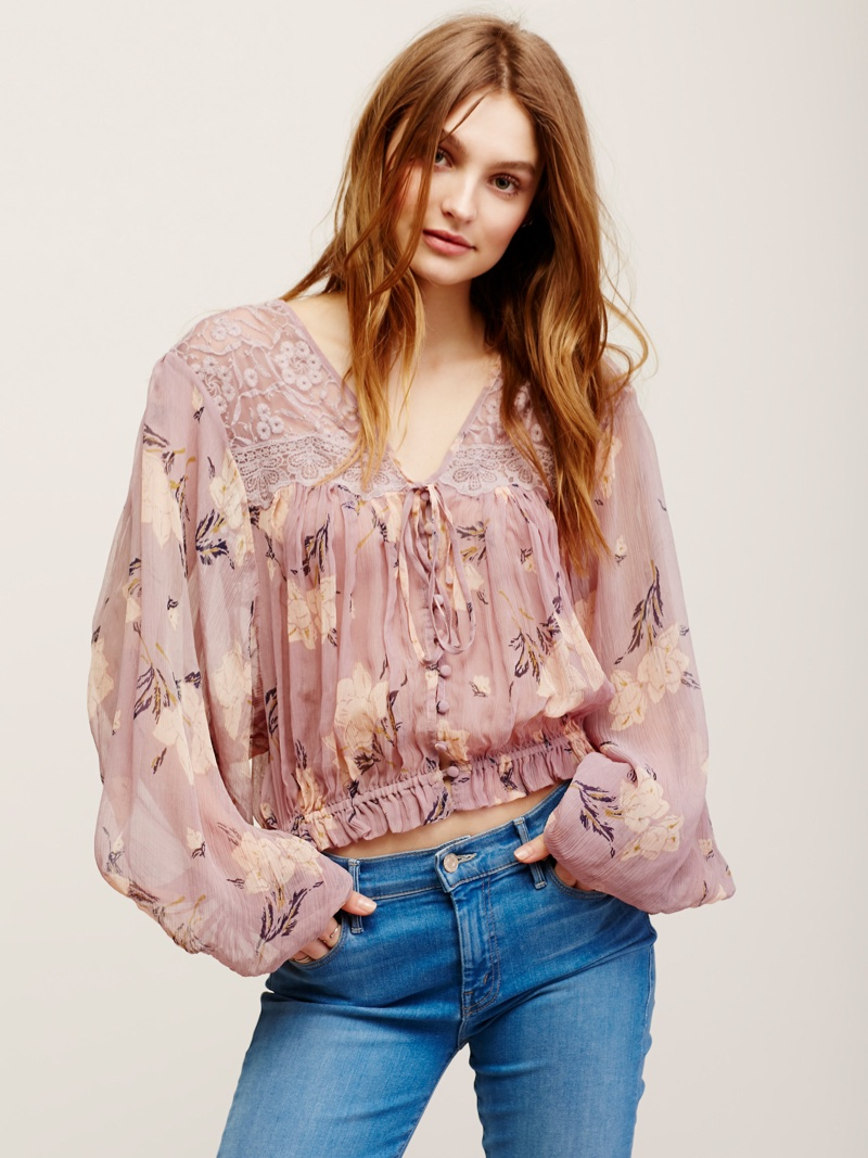 Embrace The Boho Look In One Of These Peasant Blouses