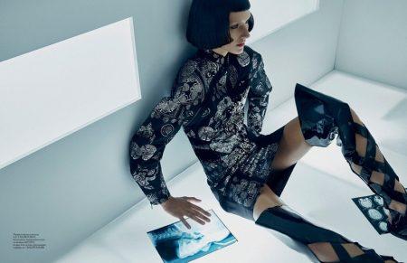 Josephine Le Tutour Takes on Fashion of the Future for Vogue Ukraine