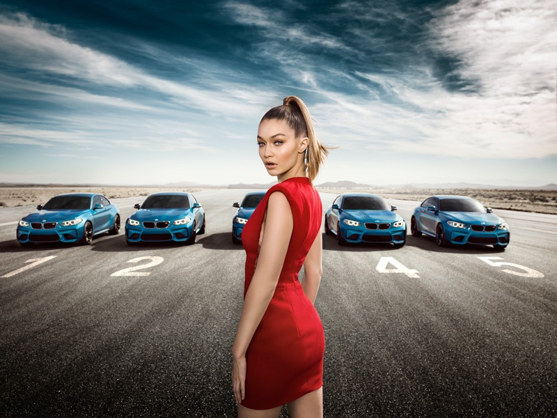 Gigi Hadid Stars In Bmw Eyes On Campaign