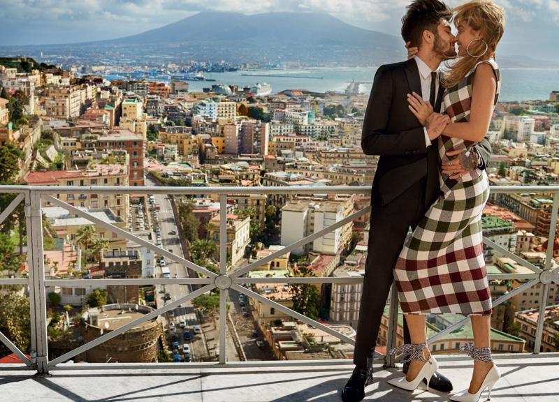 Gigi Hadid and boyfriend Zayn Malik star in Vogue's May issue. Photo: Mario Testino