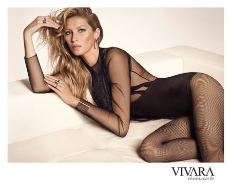 Gisele Bundchen Dazzles in Vivara's New Jewelry Ads