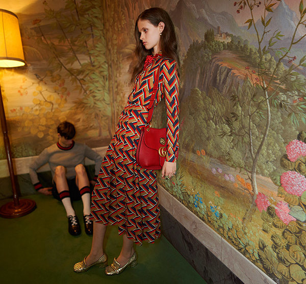 This image from Gucci's cruise 2016 campaign was banned by the UK's Advertising Standards Authority