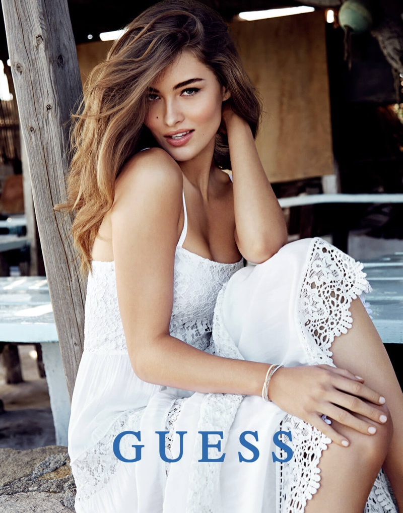 Guess releases its spring-summer 2016 campaign