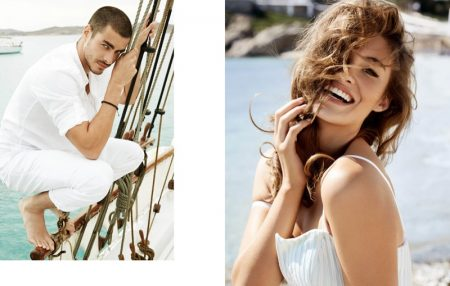 Guess Heads to Mykonos for Spring 2016 Campaign