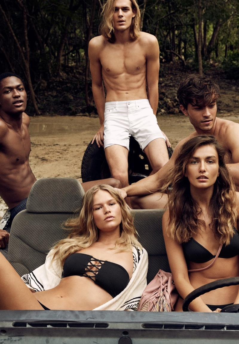 An image from H&M's summer 2016 campaign