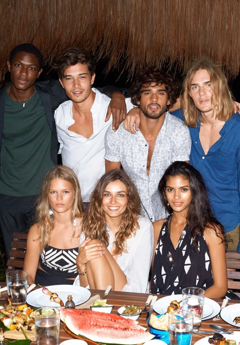 H&M features beach style in its summer 2016 campaign