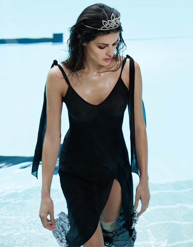 Tiara Harris Tumblr Great isabeli fontana is the ultimate l'oreal beauty for grazia france