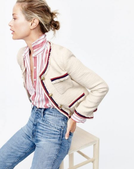 Embrace Bold Stripes with J. Crew's New Arrivals