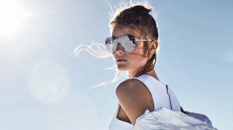 Jac Jagaciak Models Luxe Ski Style for BAZAAR Australia