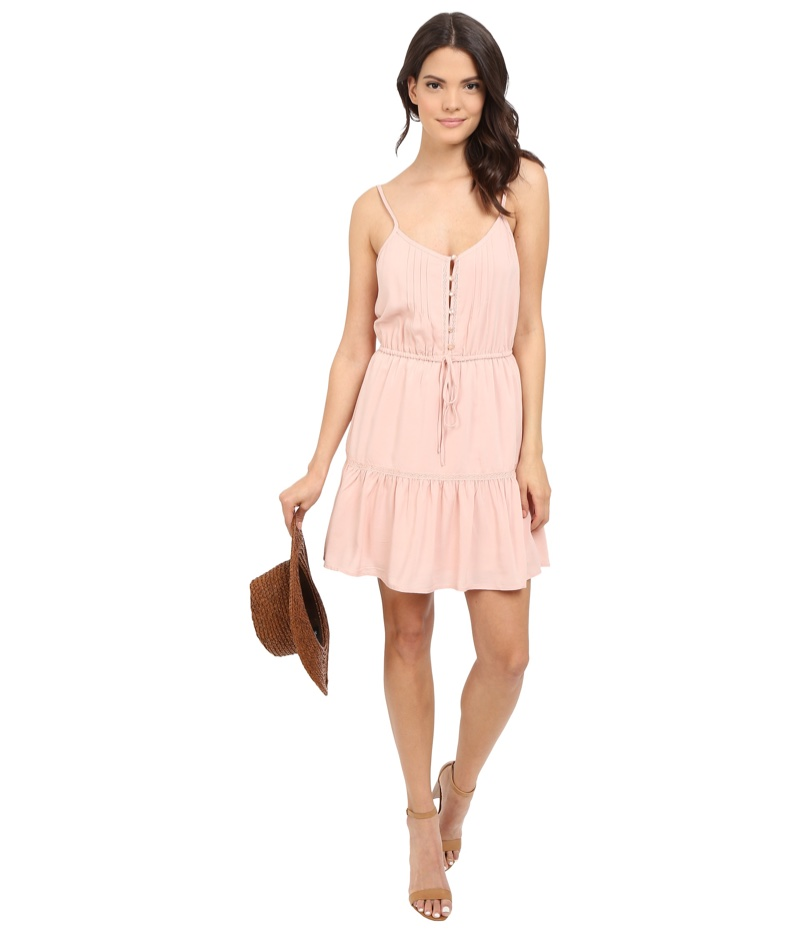 Jack by BB Dakota Finella Lace Trim Dress