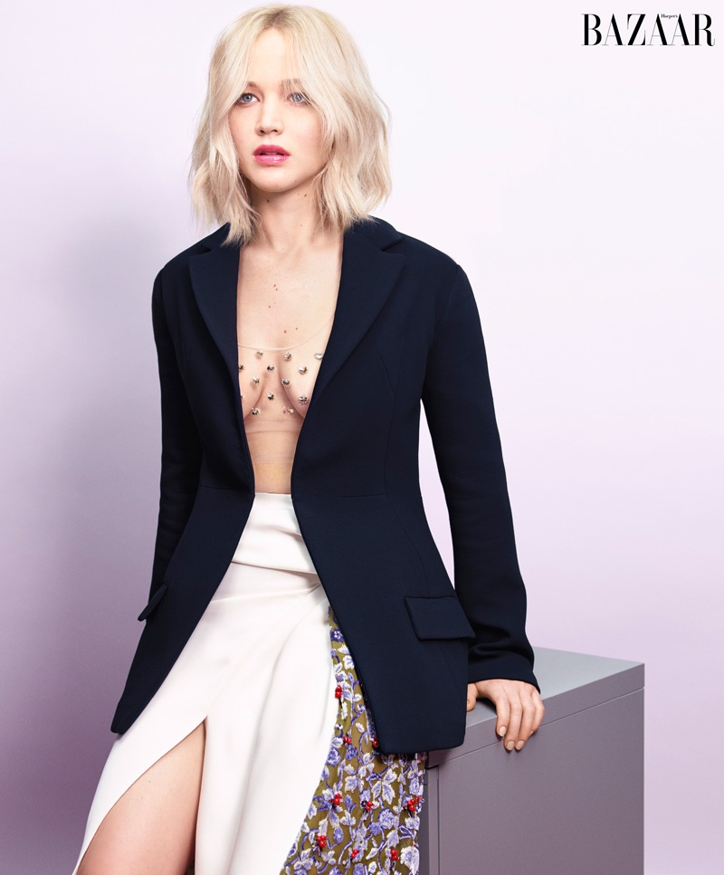 Jennifer Lawrence Harper's Bazaar May 2016 Photoshoot