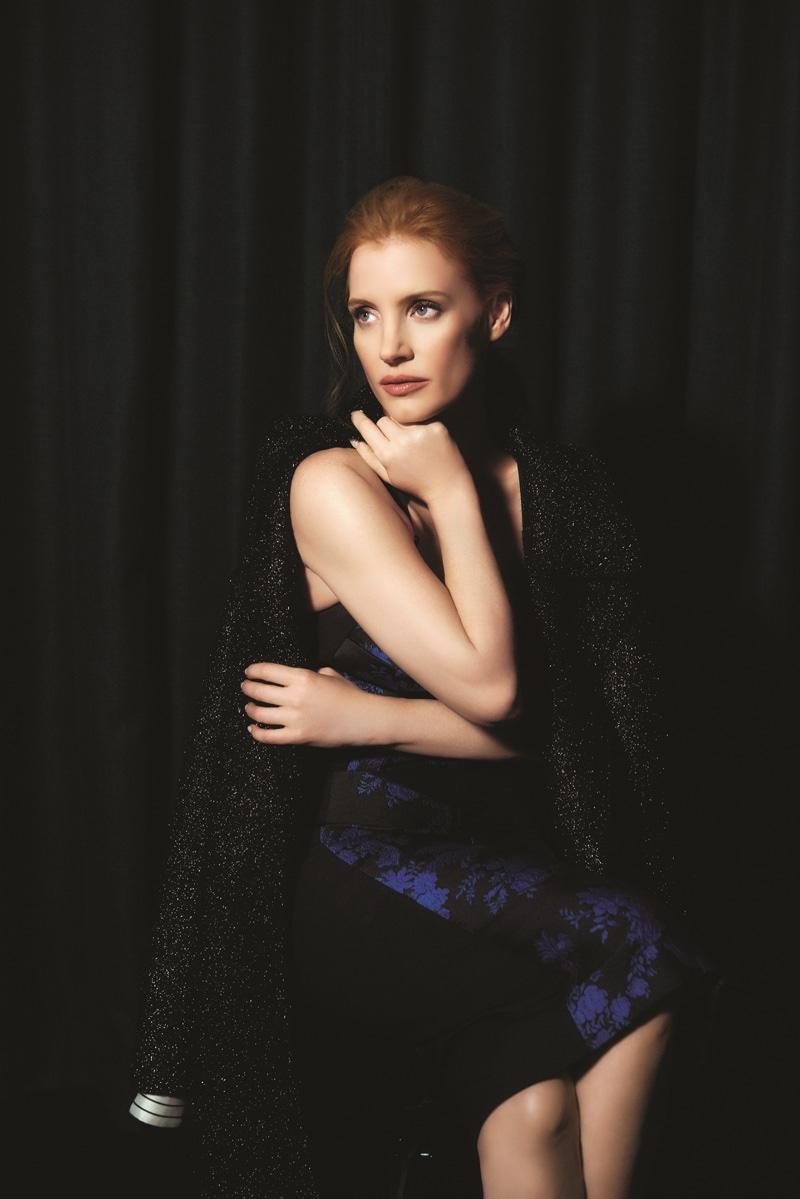 Jessica Chastain Modern Luxury May 2016 Photoshoot