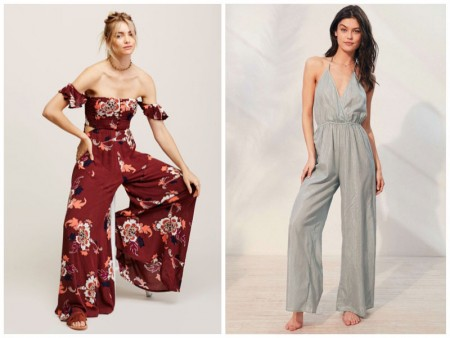 Take it Easy in One of These Wide Leg Jumpsuits