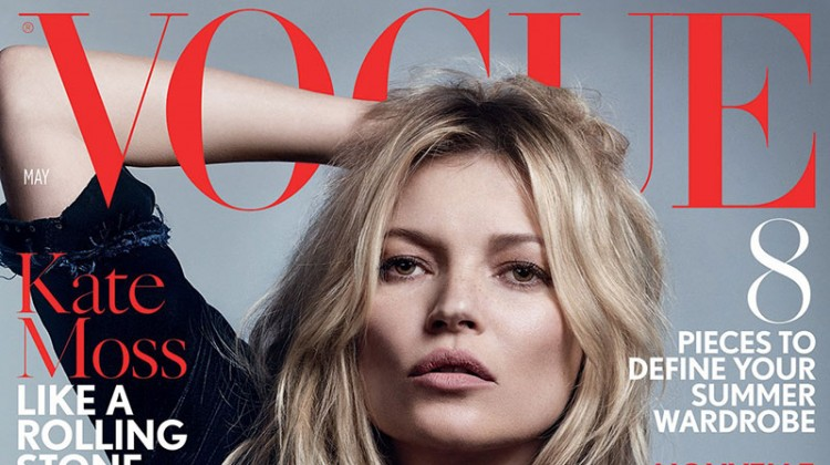 Kate Moss is the Queen of Cool on 37th Vogue UK Cover