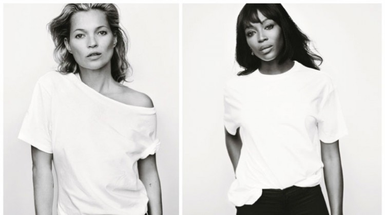Supermodels Kate Moss & Naomi Campbell Team Up for a Good Cause