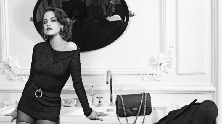 Kristen Stewart Gets Sultry for Chanel's 'Paris in Rome' Campaign