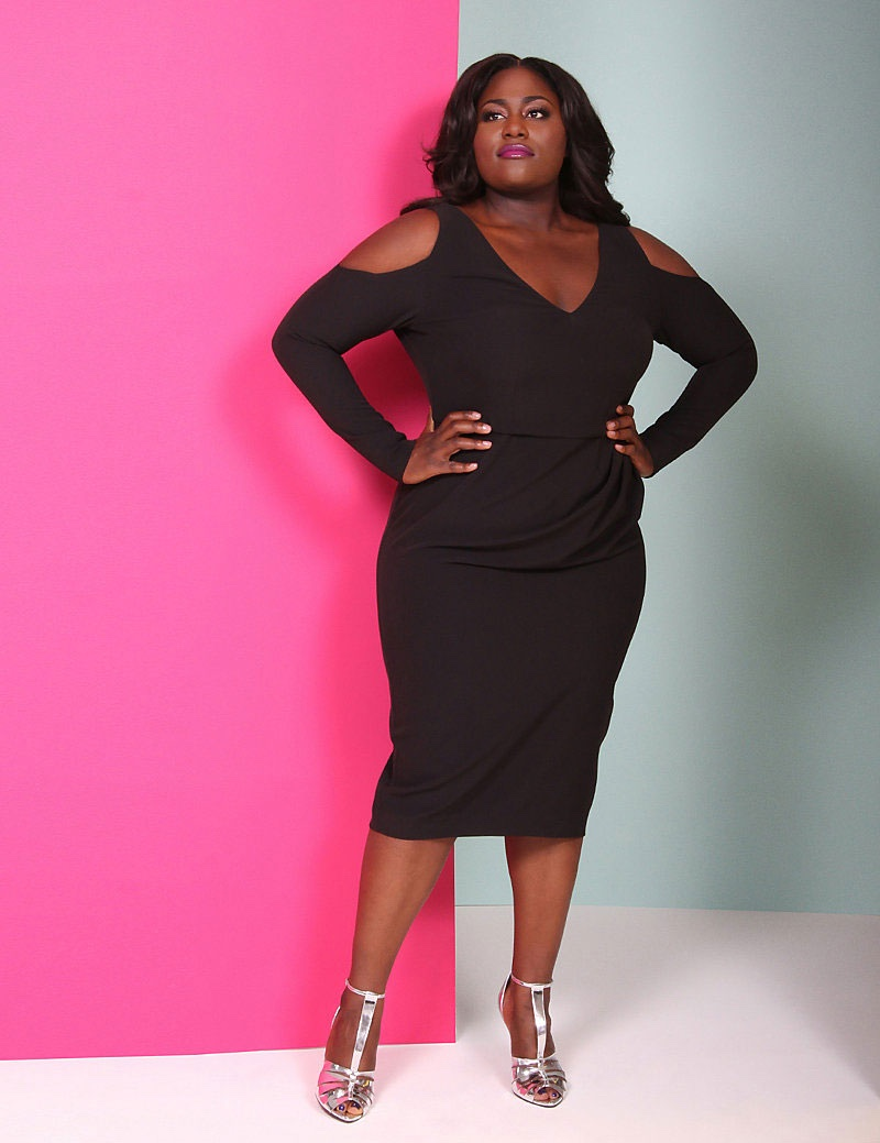 Lane Bryant x Christian Siriano Cutout Dress