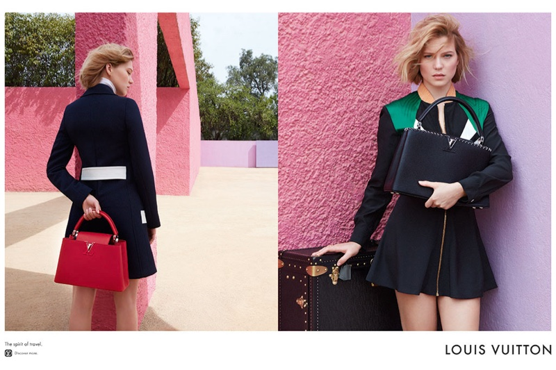 See Lea Seydoux's First Campaign for Louis Vuitton