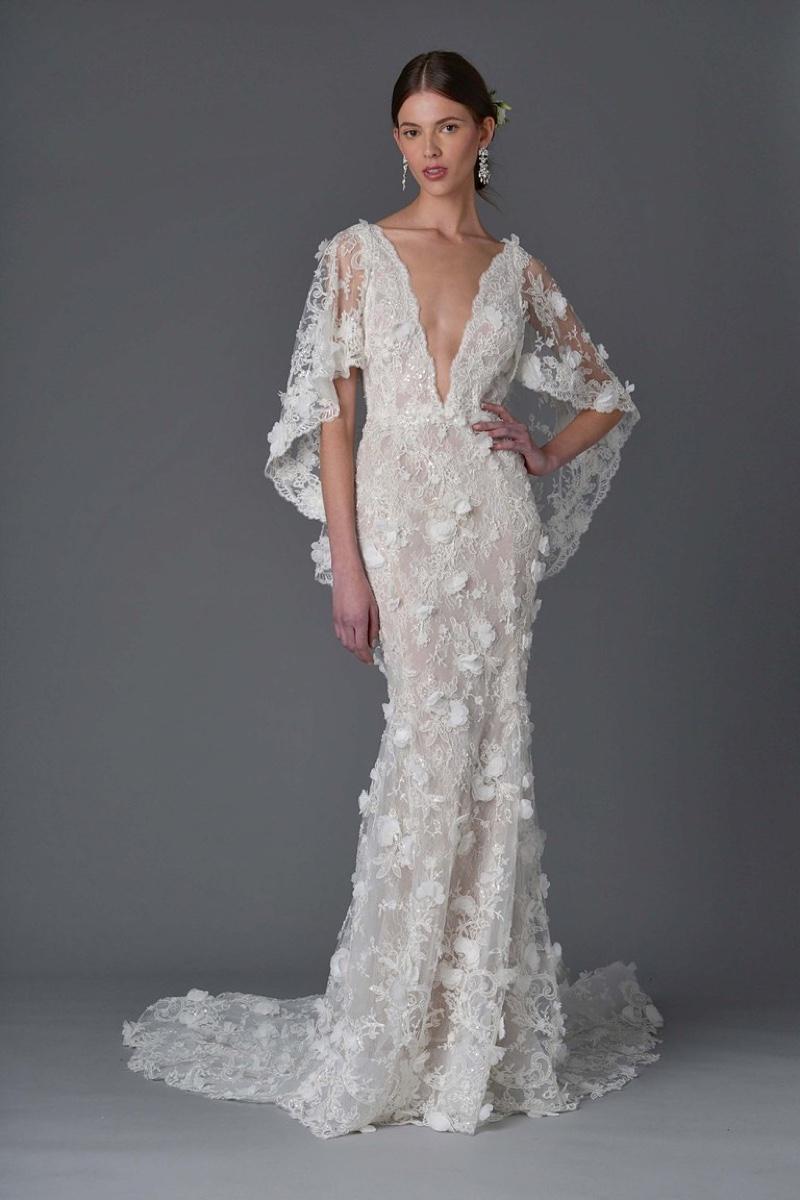 Marchesa bridal 2017 spring wedding dresses for Top wedding dress designers 2017