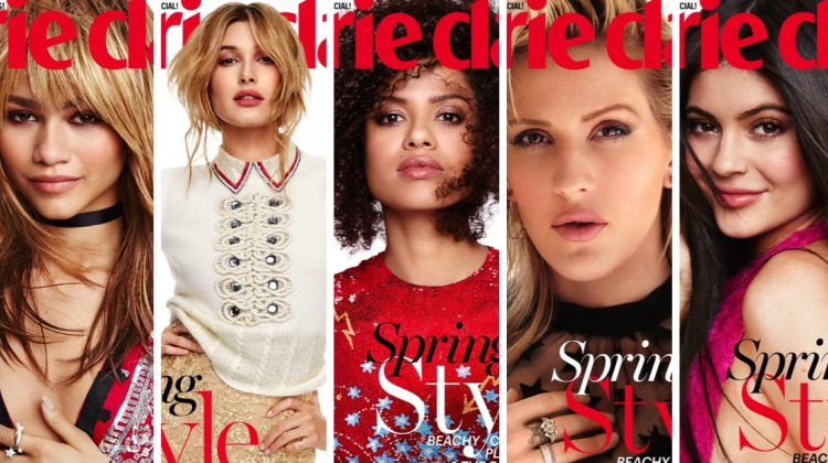 Kylie Jenner, Zendaya + More Cover Marie Claire as Fresh Faces