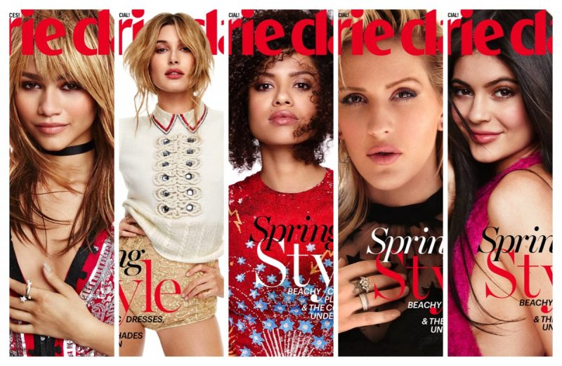 Marie Claire May 2016 Covers