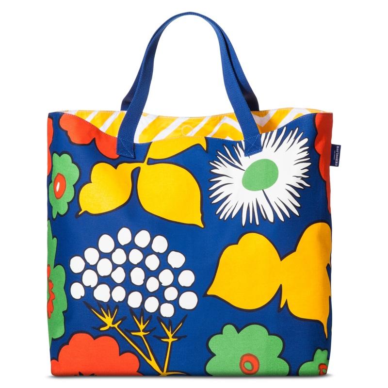 3c566d0129b27 ... Marimekko for Target Oversized Beach Tote Bag in Kukkatori Print