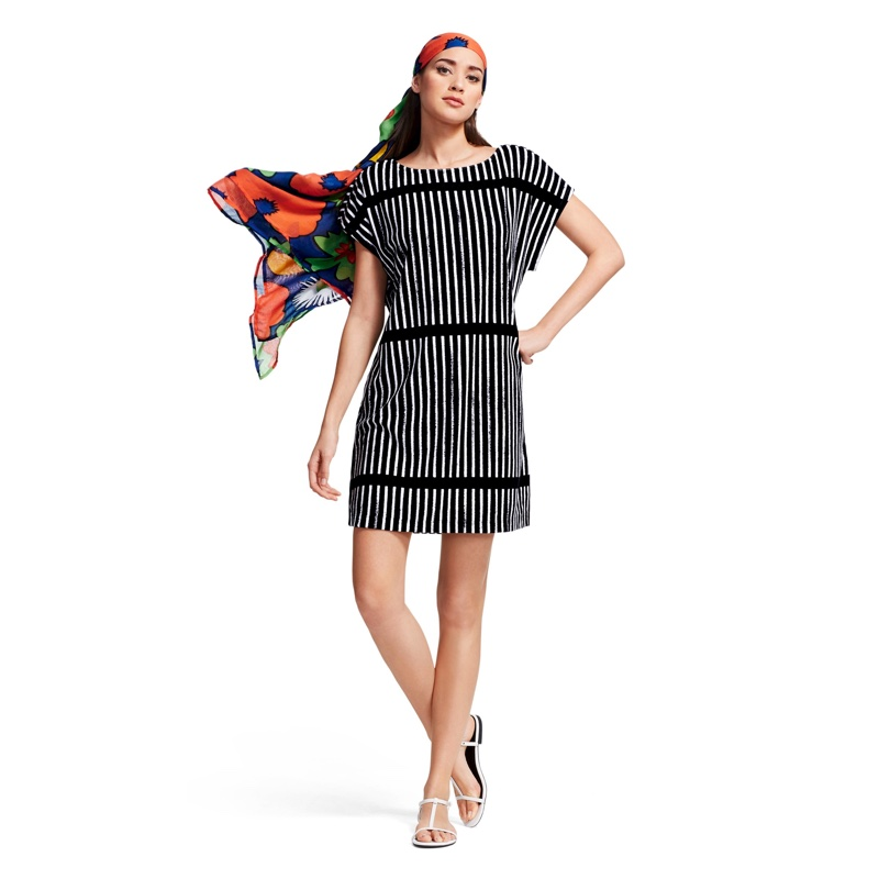 Marimekko for Target Terry Cloth Cover-up Dress in Black