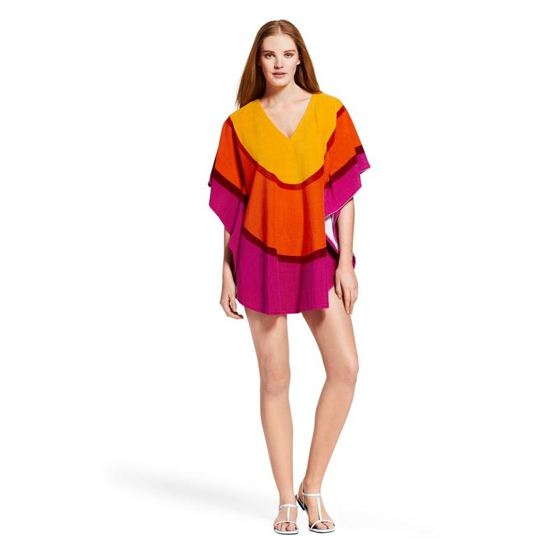 8c3204ad4cd79 ... Kukkatori Print Marimekko for Target Terry Cloth Cover Up in Melooni  Print