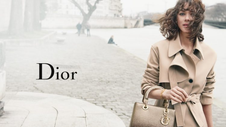 Marion Cotillard Has a Breezy Outing in New Lady Dior Ads